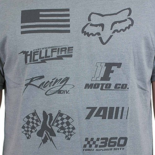Fox T-Shirt No Loss grau meliert Grau