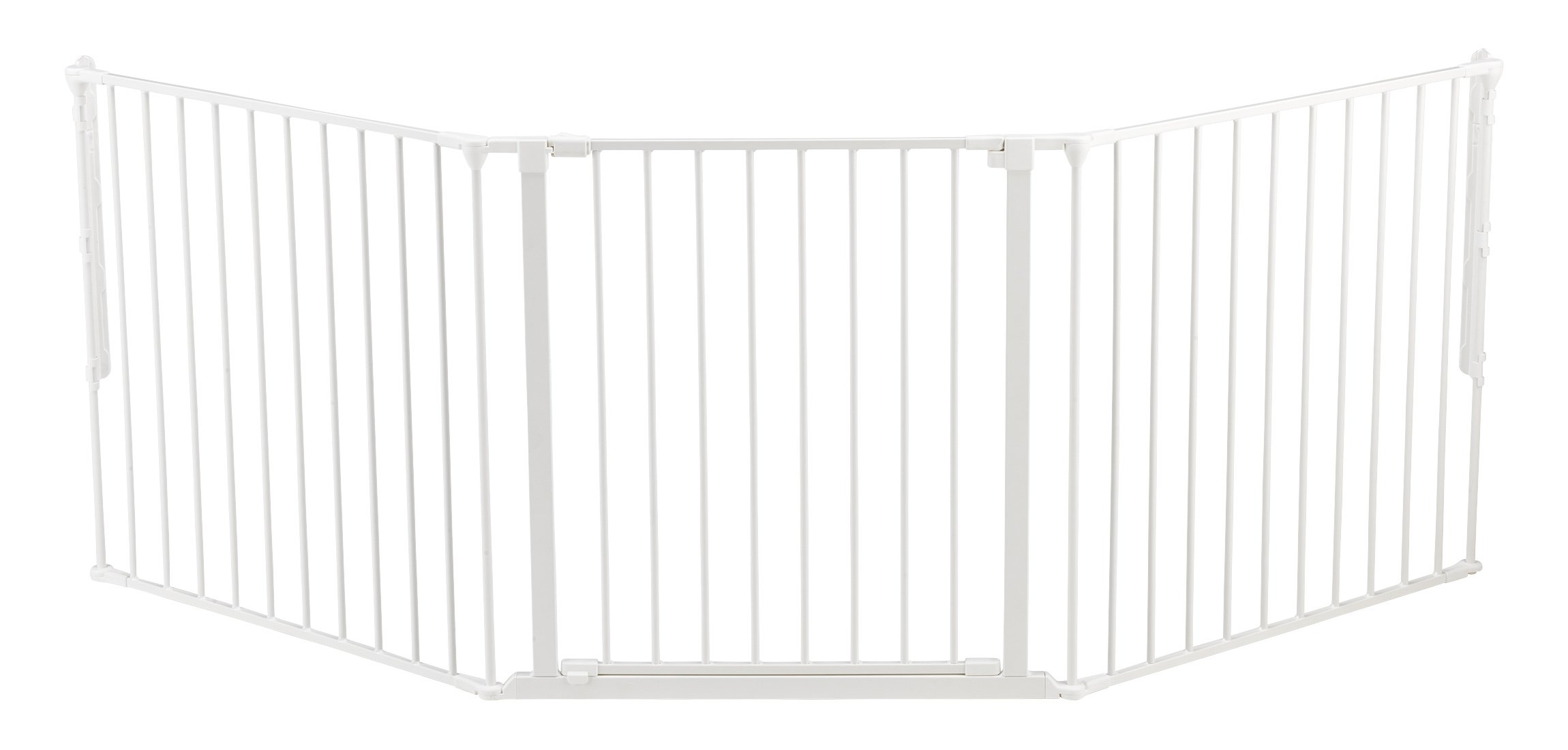 BabyDan Configure (Large 90-223cm, White)  Only configure system fulfilling newest European safety standard Multi purpose room divider and gate for wider openings Flexible and easy to fit 1