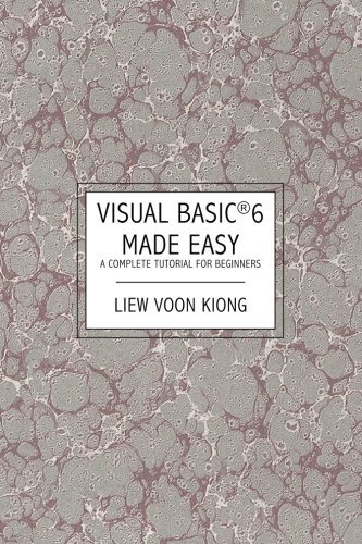Liviu Timo Pdf Visual Basic 6 Made Easy A Complete Tutorial For