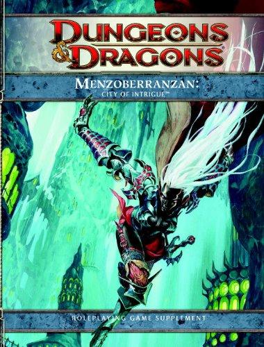 Menzoberranzan: City of Intrigue (Dungeons & Dragons Supplement) por Rpg Team