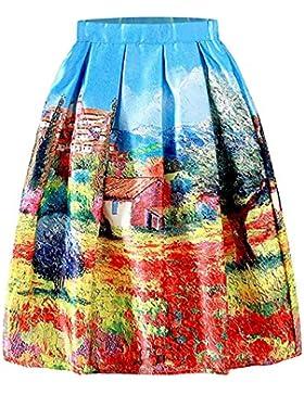 iShine falda larga mujer faldas cortas con 5 estilos