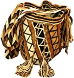 Mochila Wayuu - Bolso cruzados de algodón para mujer multicolor Orihueca