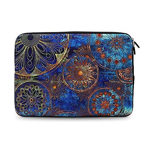 iCasso Böhmen Design Schützend Weich Handtasche ,Tragetasche Laptop sleeve Einfachen Stil Hülle für Laptop / Dell / Surface / MacBook, Notebook und Tablet / Lenovo / Samsung (11-13.3