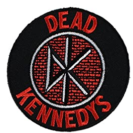 DEAD KENNEDYS, Logo, Officially Licensed Original Artwork, 3″ x 3″ – Iron-On