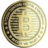 Bitcoin Gold Plated Coin Collect