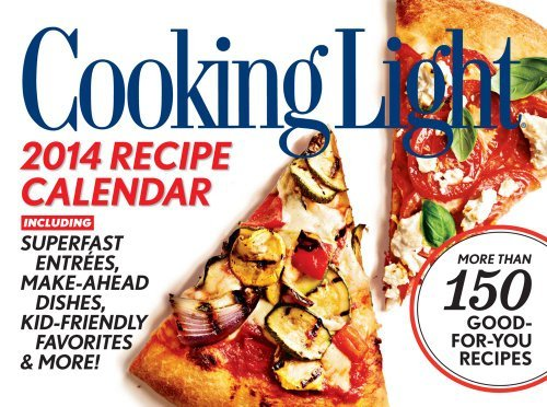 Cooking Light 2014 Boxed Recipe Calendar by Time Home Entertainment Inc. (2013-07-30)