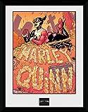 GB eye Affiche encadrée Batman Comic Harley Quinn Graveyard 40,6x30,5cm