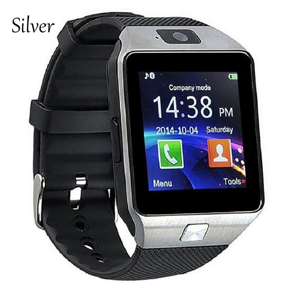 Student Smart GPS Positioning Phone watch The elderly Blood pressure Healthy heart rate , silver