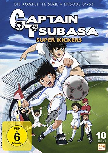 Captain Tsubasa - Super Kickers - Gesamtedition Folgen 1-52 [10 DVDs] Kicker Box