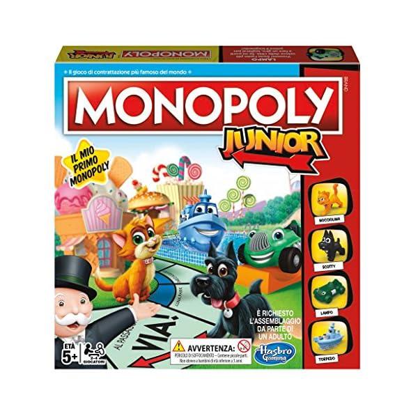 Hasbro Gaming- Monopoly Junior, Versione 2018, A6984456 1 spesavip