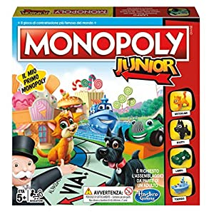 Hasbro Gaming Monopoly Junior Refresh (edición Italiana)