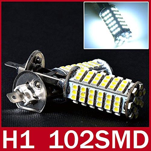 lesunhugtm2x-h1-light-auto-car-lamp-led-bulb-102-smd-xenon-white-fog-lighting-12v-for-truck-boat-atv
