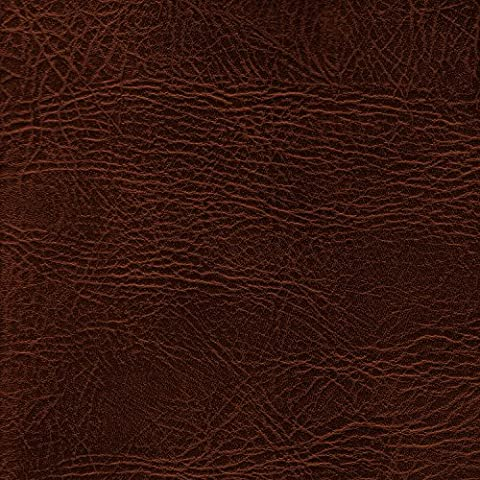 CHESTNUT 54 inch wide Leatherette Vinyl Fabric Fire Retardant Faux Leather Upholstery Material Sold by the metre