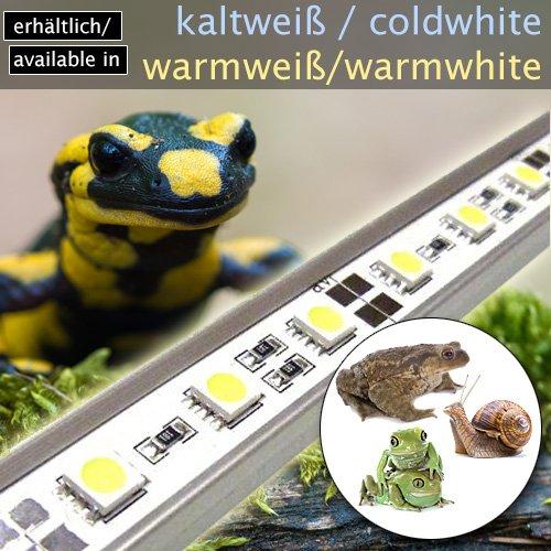 LED-Beleuchtung (kaltweiß, 90cm) Simulator Steuerung Terrarium/Aquaterrarium/Vivarium Reptilien Amphibien Spinne Insekt TB5WW