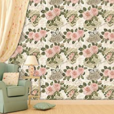 Brick Wallpapers for Wall   Best for Living Room and Home Décor   Size: (Large Roll/45 SqFt)   High Quality Stone Brick Wall Effect Pre Gummed Wallpaper (Self Adhesive) by Paper Plane Design (PPD)