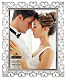 Best Malden Collage Picture Frames - Malden International Designs Enchanted Hearts Pierced Silver Review