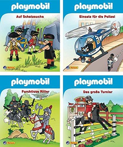 Preisvergleich Produktbild 4er Playmobil 1-4 (Nelson Mini-Bücher)