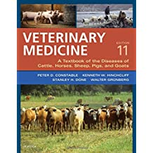Veterinary Medicine: A textbook of the diseases of cattle, horses, sheep, pigs and goats - two-volume set, 11e