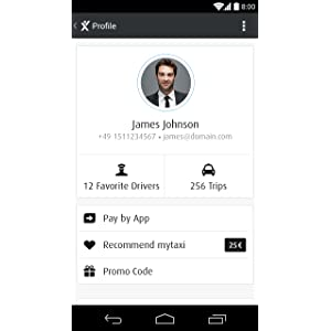 mytaxi - The Taxi App: Amazon co uk: Appstore for Android