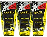3x got2b Super Kleber ultra glued indestructible STYLING GEL - 450ml
