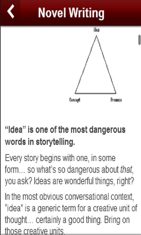 novel writing app