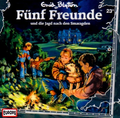 Buchseite und Rezensionen zu 'Fünf Freunde - CD/Fünf Freunde - und die Jagd auf den Smaragd' von Enid Blyton
