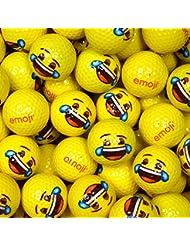 Emoji EMGBB004 Lot de 48 Balles de Golf Mixte Adulte, Blanc, N/A