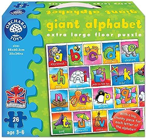 Orchard Toys Giant Alphabet Jigsaw Floor Puzzle