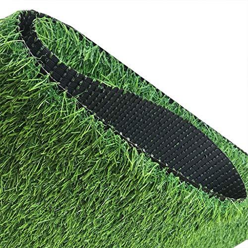 YUER 3 Stück Kunstrasen im Freien Grün High Density Fake Lawn Turf of Dogs Haustiere Natürlich und realistisch aussehender Garten Ordentlich Üppiger 30mm Haufen (Color : 2x1.5) -