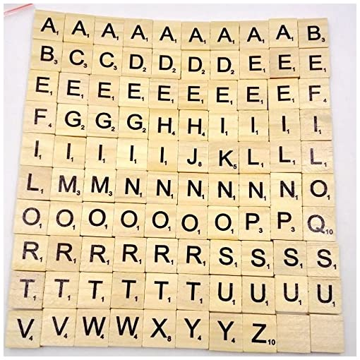 Generic–Buchstaben-aus-Holz-von-Scrabble–Puzzle-Alphabet-A-bis-Z-schwarz
