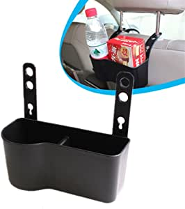 RETYLY Car Center Console Water Cup Holder Beverage Bottle Holder Coin Tray For 3 Series E46 318I 320I 98-06 51168217953 Black