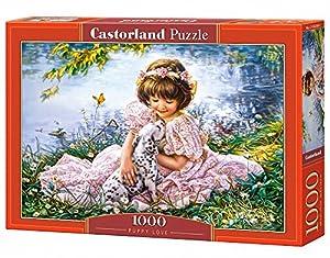 CASTORLAND Puppy Love 1000 pcs Puzzle - Rompecabezas (Puzzle Rompecabezas, Niños, Niños y Adultos, Niño/niña, 9 año(s), Interior)