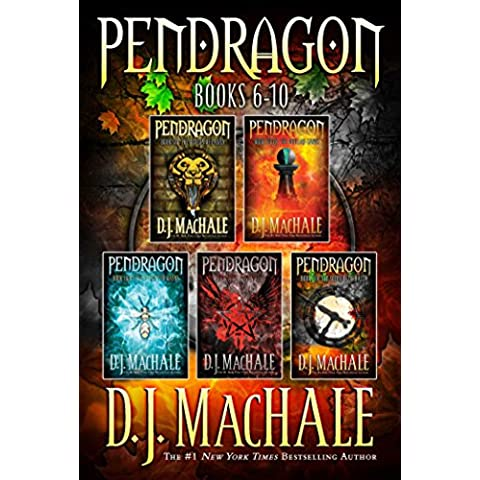 Pendragon Books 6-10: The Rivers of Zadaa; The Quillan Games; The Pilgrims of Rayne; Raven Rise; The Soldiers of Halla (English Edition)