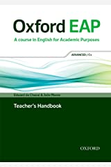 Oxford EAP: Advanced/C1: Teacher's Book, DVD and Audio CD Pack Paperback