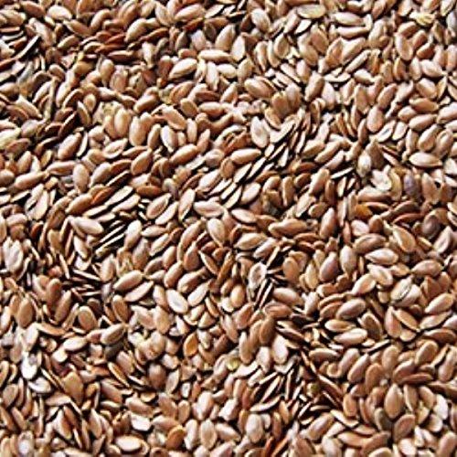 25kg Leinsamen braun -