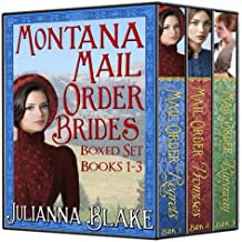 Montana Mail Order Brides Collection Books 1-3: A Sweet Historical Western Romance