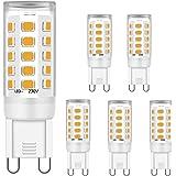 G9 LED Ampoules Blanc chaud 5W Équivalent à 28W 33W 40W Halogène Ampoules, G9 Prise Les lampes pour Cristal Plafond Lumières,