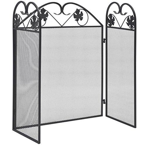 Festnight Biombo Diseño 3 Paneles Estilo Clásico Pantalla de Chimene