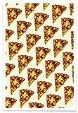"""JUNIQE® Poster 20x30cm Pizza Retro - Design """"Pizza"""