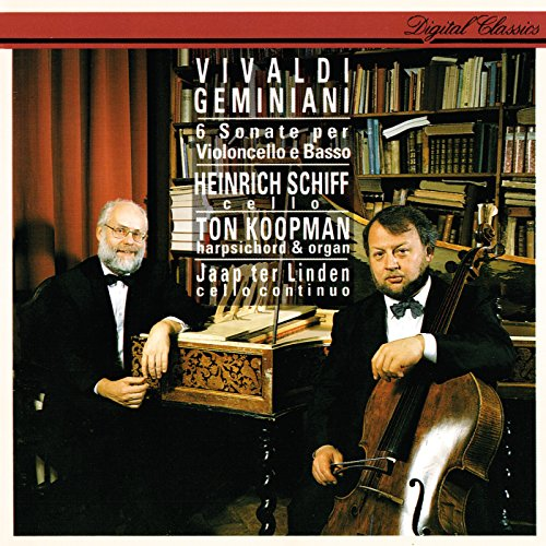 Geminiani: Cello Sonata in C major, Op.5, No.3 - 4. Allegro