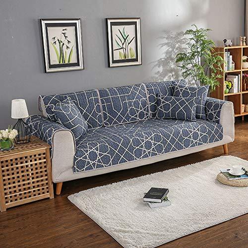 Zzy Anti-rutsch-Sofa Werfen slipcover für Hunde Haustiere Kinder Anti-rutsch-möbel Cover Schild Protector Couch -1 stück-B 90x240cm(35x94inch)