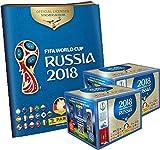 Panini WM Russia 2018 - Sticker - 2 Display + 1 Album