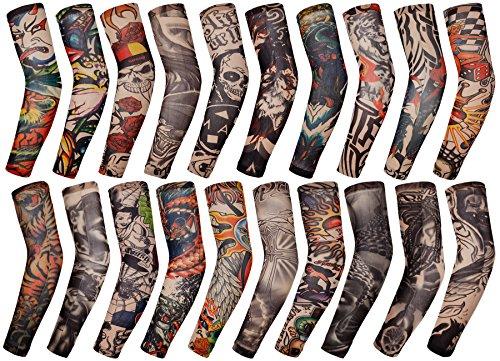 yizyif-mode-manche-de-bras-tatouage-motifs-unisexe-anti-uv-protection-accessoires-fete-multicolore-2