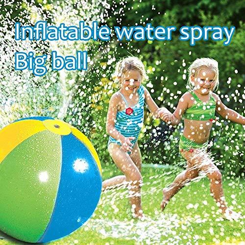 Wokee Bunter Wasserball Strandball, Sommer-Spaß-Garten-Pool-Strand,Ø 75 cm,Fun Sports Beachvolleyball,Wasserspielzeug