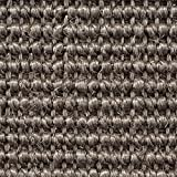 Teppichboden Auslegware | Sisal Naturfaser Schlinge | 400 cm Breite | grau | Meterware, verschiedene Größen | Größe: 2 x 4m