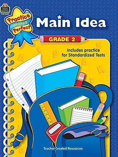 Main Idea Grade 2: Grades 1-2 (practice make perfect)