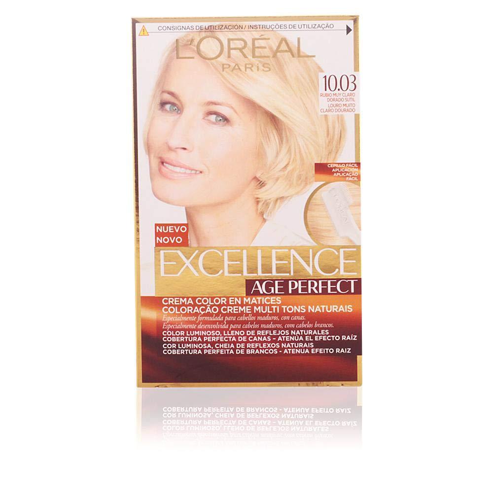 L'Oréal Paris Age Perfect Coloración permanente, Tono: 10.03