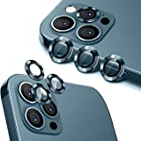 HoiLong for iPhone 12 Pro Max (6.7 inch) Camera Lens Protector, Premium HD Tempered Glass Aluminum Alloy Lens Screen Stiker C