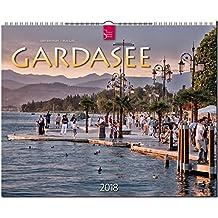 GARDASEE: Original Stürtz-Kalender 2018 - Großformat-Kalender 60 x 48 cm