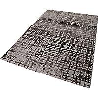 Esprit Velvet Grid Moderno Marca Alfombra, Polipropileno y poliéster, Beige, 290x 200x 1.2cm
